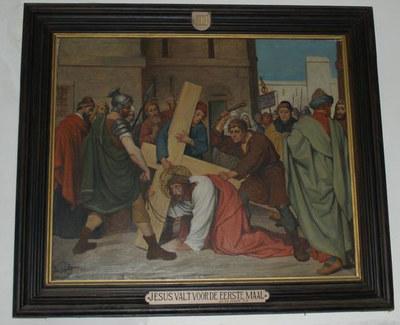 kruiswegstatie III