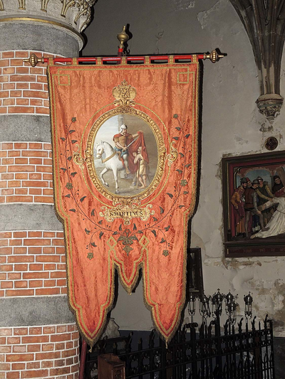 vaandel Sint-Martinus