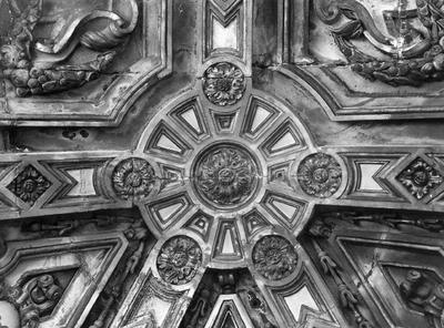 Gewelf van de kapel van het Heilig Sacrament.