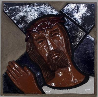 Veertiendelige kruiswegstatie