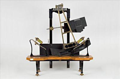 Pendel voor chronometrisch-optisch onderzoek