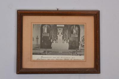 Binnenzicht kapel