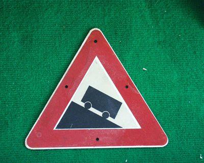 gevaar voor steile helling