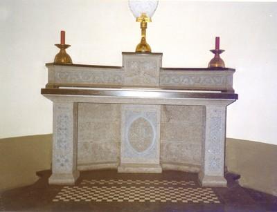 Zijaltaar van Sint-Jozef in de zijkapel zuid van het koor