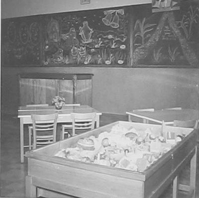 Kleuterklas in de zusterschool