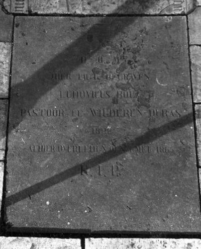 grafsteen van Ludovicus Broux