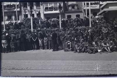 A Coruña [Visual] : [Celebración do terceiro aniversario do Alzamento no Cantón Grande].