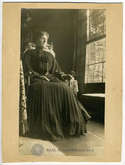 Retrato de muller non identificada (Vicenta de la Rúa?)