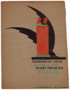 zagrebački zbor 21.-28.III.1926 veliki proljetni sajam u Zagrebu