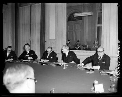 Parlementaires:  Regering A. Van Acker