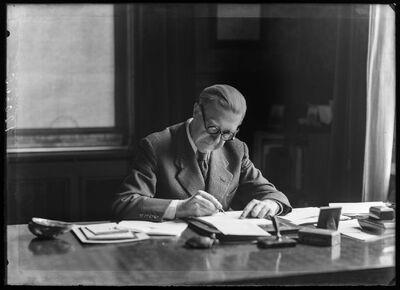Henri Lavachery, hoofdconservator Koninklijke Musea voor Kunst en Geschiedenis Brussel