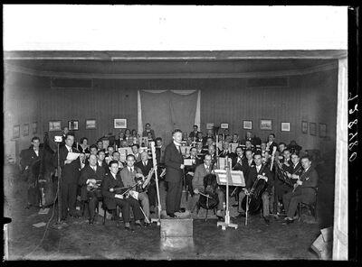 Musicien - Symphonisch orkest tijdens een repetitie