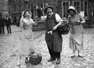 Marchandes de raisins- druivenverkoper