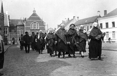 Type: Kempische vrouwen te Herentals