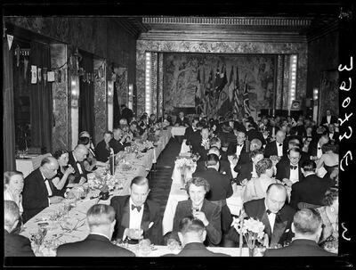 Société civile: banket van een Rotary-club