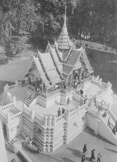 Exposition universelle et internationale de Bruxelles de 1958 : Pavillon de la Thaïlande