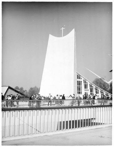Exposition universelle et internationale de Bruxelles de 1958 : Pavillon du Vatican