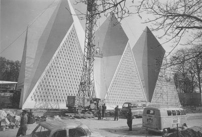 Exposition universelle et internationale de Bruxelles de 1958 : Pavillon de l'Angleterre