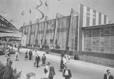 Exposition universelle et internationale de Bruxelles de 1958 : Pavillon de l'Urbanisme