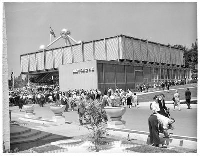 Exposition universelle et internationale de Bruxelles de 1958 : Pavillon de l'Autriche