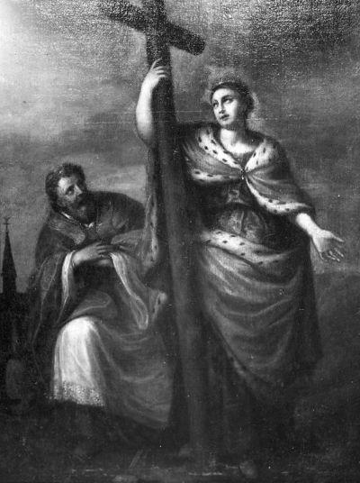 H. Helena en Paus Silvester I