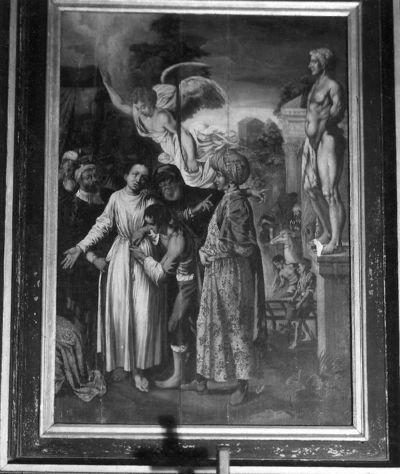 H. Laurentius veroordeelt tot de marteldood