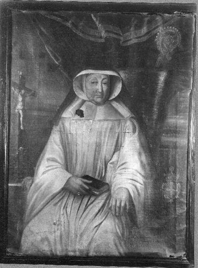 Portret van Gertrudis de Mettecoven, abdis van Herkenrode (1725-1728)