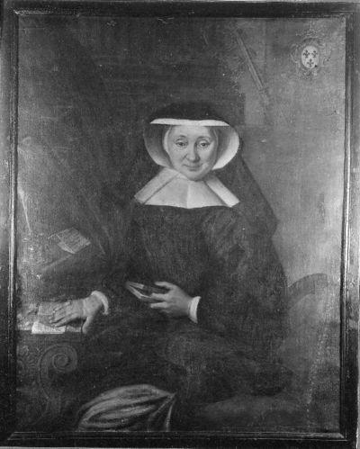 Portret van Barbara de Rivière d'Arschot, abdis van Herkenrode (1728-1744)