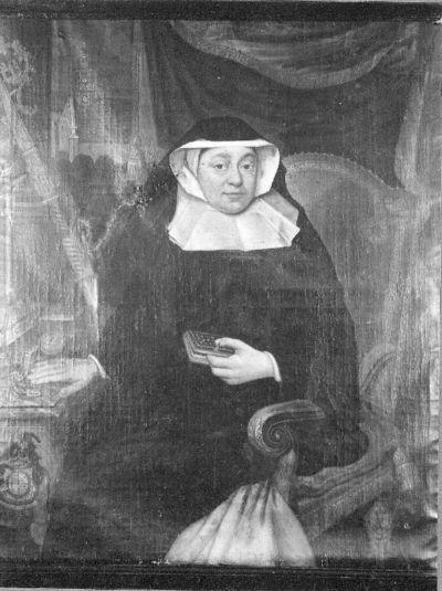 Portret van Anna de Croy, abdis van Herkenrode (1744-1772)