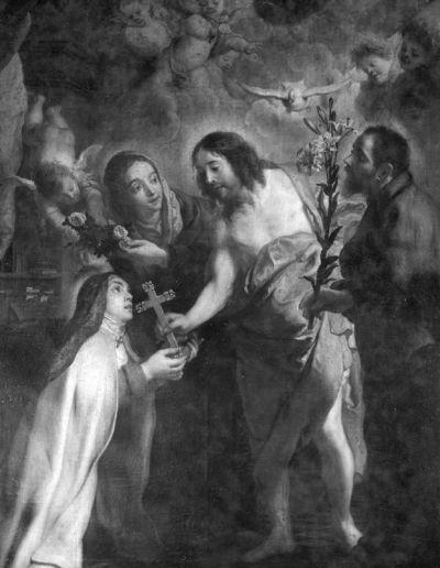 Het visioen van de Heilige Theresia van Avila