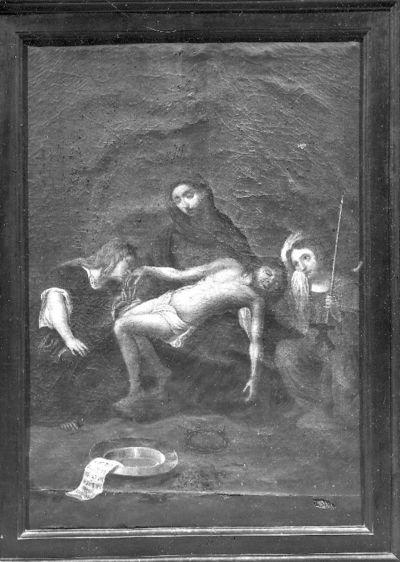Bewening met Maria, Johannes en Maria Magdalena