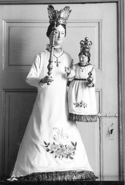 Madonna met kindje Jezus