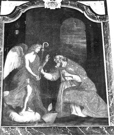 H. Servaas en engel