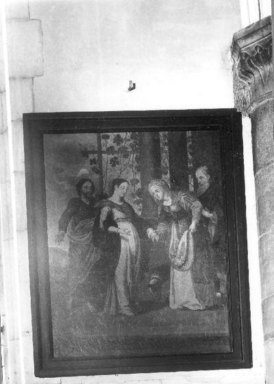Maria bezoekt haar nicht Elisabeth