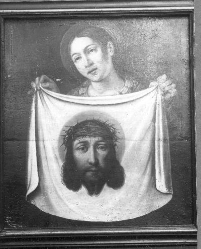 Veronica toont het ware Gelaat van Christus