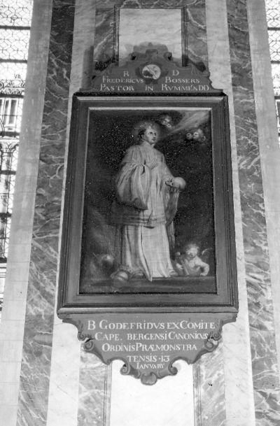 reeks ordeheiligen, zalige Gerardus eerste abt van de abdij van Clari Fontis
