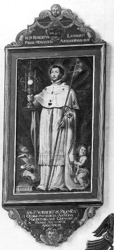 reeks ordeheiligen, H. Norbertus, stichter van orde der premonstratensers