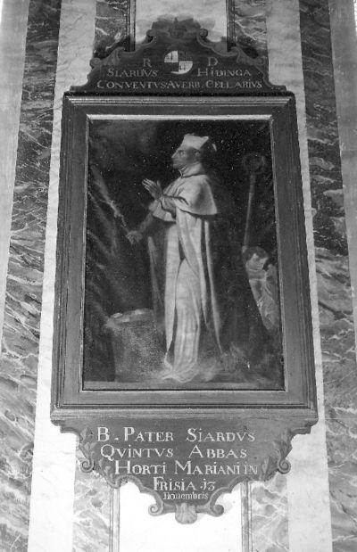 reeks ordeheiligen, zalige Siardias stichter van het klooster Mariengarden in Friesland