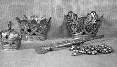 kroon voor beeld Onze-Lieve-Vrouw
