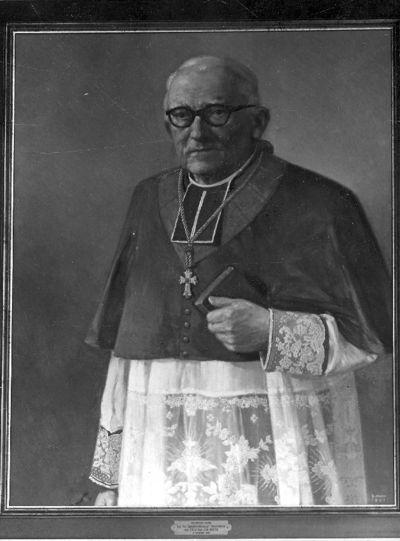 portret pastoor J. Beets