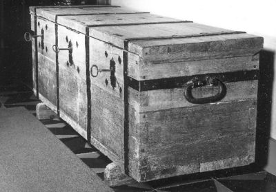 Documentenkoffer met drie sloten
