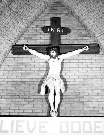 Jezus aan het kruis