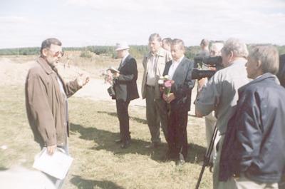 Seminarium polsko-białoruskie bibliotekarzy Bug nie dzieli (Brześć - Iwanowo ; 16-18 września 2004) - wyjazd do Worocewicz