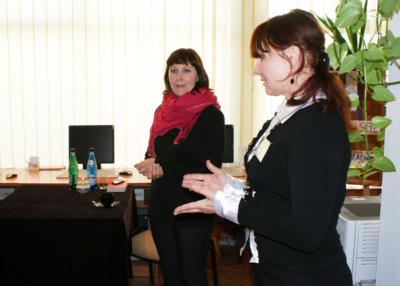 Spotkania autorskie z Joanną Fabicką w Filii nr 6 MBP, 17.05.2010 r.