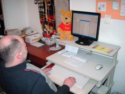 Komputeryzacja filii Miejskiej Biblioteki Publicznej w Białej Podlaskiej, 13.02.2007 r.