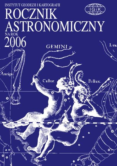 Rocznik Astronomiczny na rok 2006