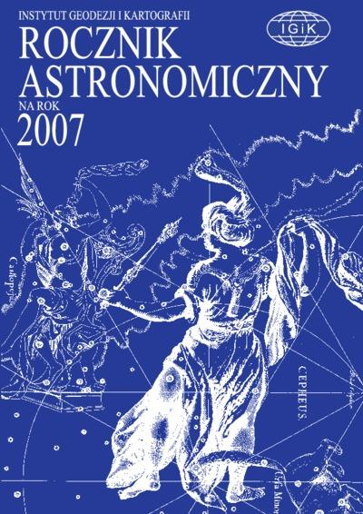 Rocznik Astronomiczny na rok 2007