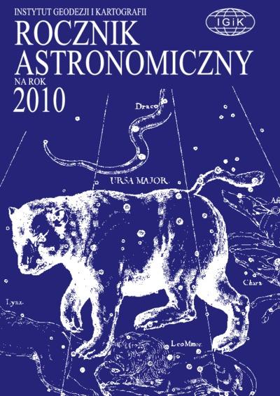 Rocznik Astronomiczny na rok 2010