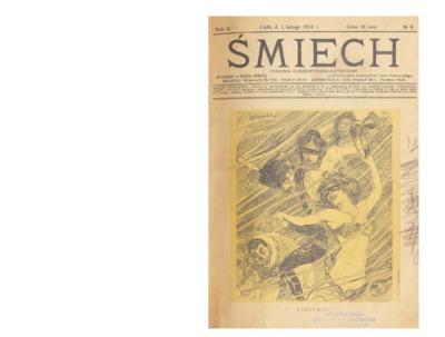 Śmiech : tygodnik humorystyczno-satyryczny : wychodzi w każdą sobotę. 1913-02-01 R. 2 no 6