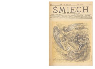 Śmiech : tygodnik humorystyczno-satyryczny : wychodzi w każdą sobotę. 1913-03-22 R. 2 no 13